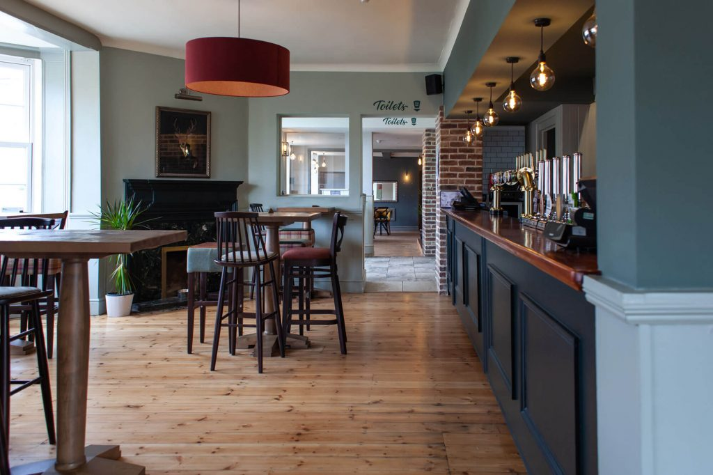 Coach House Bar and seating